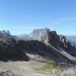 The awesome Dolomites are a real treat in September