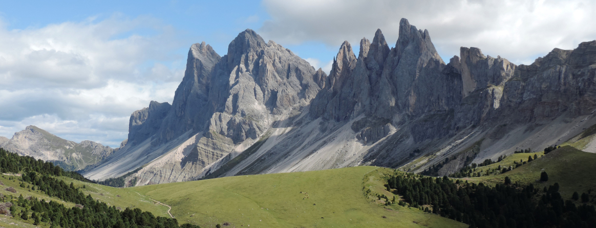 The majestic Dolomites; walking in the Italian Dolomites