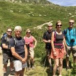 Fun on walking holiday in Chamonix inspiration for our late winter newsletter