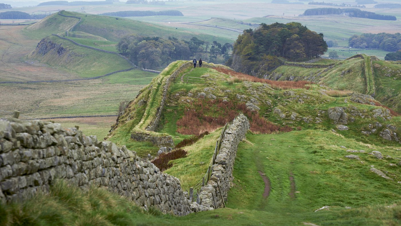 image: Hadrians Wall