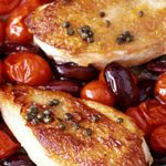 Mediterranean Chicken a french alps favourite dish