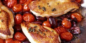 Mediterranean Chicken a french alps favourite dish