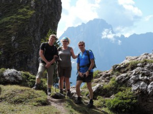 Mike leads great walking holidays
