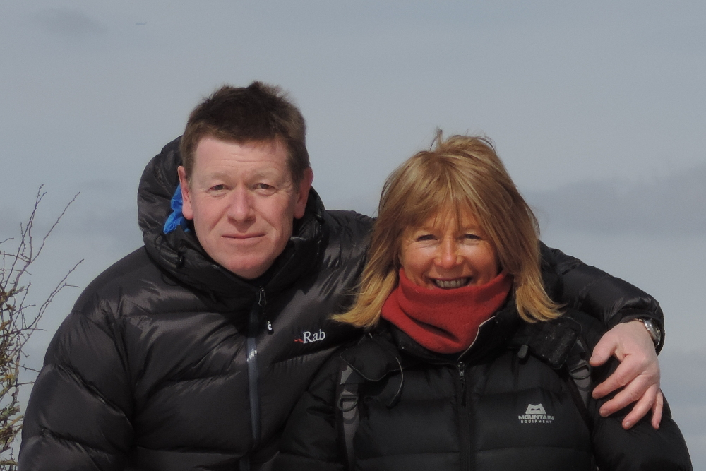 Mike and Paula of Pinnacle Walking Holidays