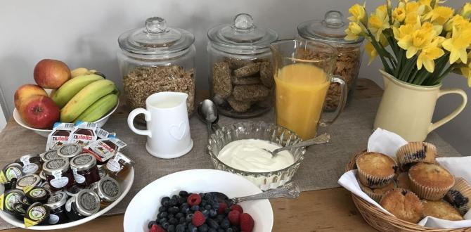 Number Sixteen Breakfast, Amble, Northumberland