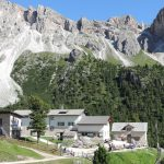 Rifugio Firenze a mecca for Ladin culture on a sunny September day