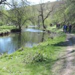 River Wye Walk, close to home and White Nancy