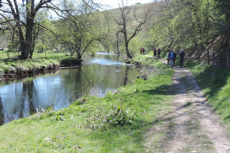 River Wye Walk, close to home and White Nancy