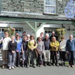 With the Sedgemoor Ramblers sampling Lake District beers