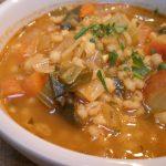 Recipe for Vegetable Barley Soup