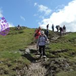 On Wansfell with Sedgemoor Ramblers in the Lake District
